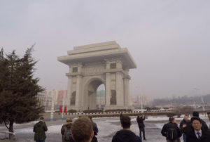 Large Monument in PyongYang
