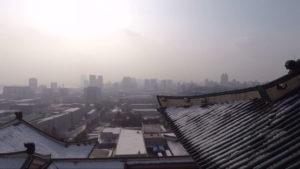 Skyline of Pyongyang